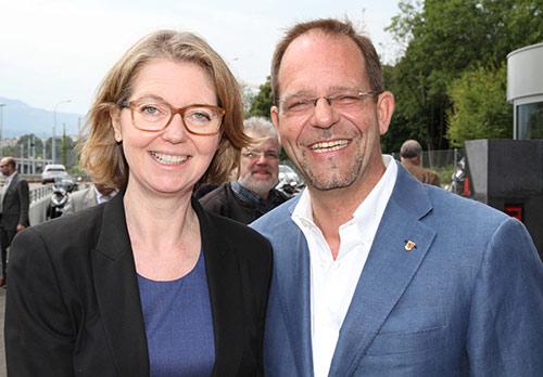 Nathalie Hardyn et Daniel Zaugg