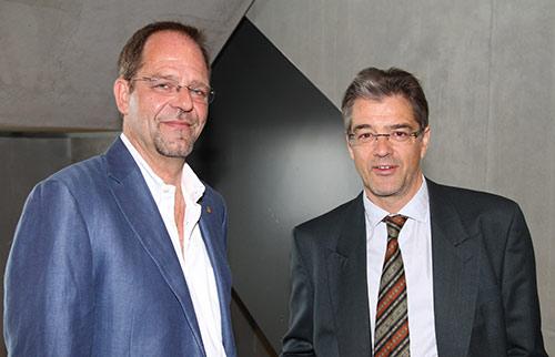 Daniel Zaugg et Jean Rémy Roulet