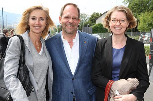 Bénédicte Montant, Daniel Zaugg et Nathalie Hardyn